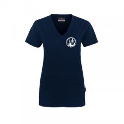 V-Neck Shirt Damen